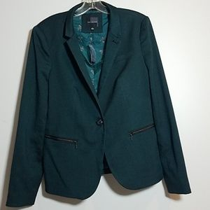[The Limited ] New One Button Lined Blazer